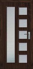 Интериорна HDF врата  цвят Венге