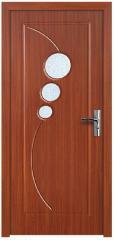 Интериорна HDF врата  цвят Череша