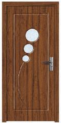 Интериорна HDF врата  цвят Орех