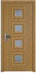 Врата цвят Светъл дъб