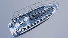 Туристическа лодка Кондор14