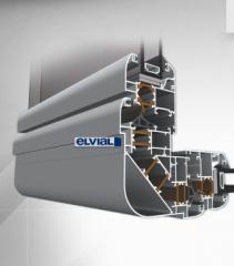 Алуминиева дограма EL 4400 Super Smart
