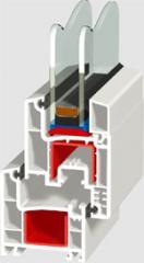 Трикамерна дограма WP 3101
