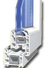 Прозорец PVC 2 камери