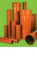 Тръби от PVC-U за външна канализация клас SN4 и