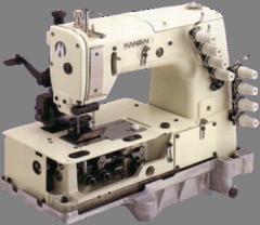 Плоски многоиглови машини с хоризонтален грайфер