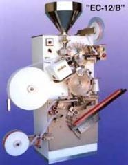 Машина за пакетиране на чай във филтърни пакетчета