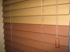 Дървени щори от естествен материал - б а м б у к