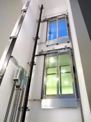 Хидравличен пътнически асансьор MRL