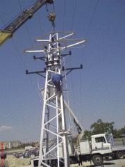 Въздушни и подземни кабелни линии