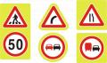 Пътни знаци, поставяни в участъци с концентрация на ПТП