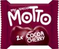 Десерт  My Motto с какаов и черешов крем