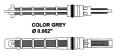 Разширителен клапан /климатизация/ сив за AUDI 100