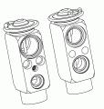 Разширителен клапан /климатизация/ за FORD SCORPIO