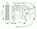 Компресор за Mazda 626 V