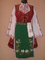Дамска тракийска носия от две части гр.Добрич