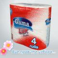 Тоалетна хартия Гама лукс