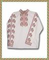 Бродирана риза с фолклорни мотиви