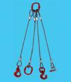 Сапан четиривъжен от стоманени въжета