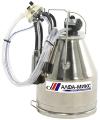 Доилен апарат с хромникелов (INOX) гюм
