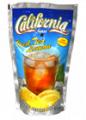 Студен чай с вкус на лимон