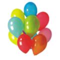 "Балони ""Пастел""-микс-10бр."