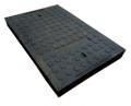 Капак на канализационния люк за кабелна шахта 900/600/80 (полимер)