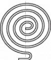 Плоска спирална пружина