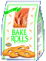 Двойно препечени  шайбички хляб с чесън BAKE ROLLS