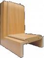 Каса регулируема дървена