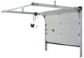 Секционни гаражни врати ISO 34 с ръчно и дистанционно задвижване