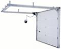 Секционни гаражни врати ISO 45 с ръчно и дистанционно задвижване