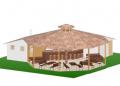 Сглобяем павилион - Бирария квадратура - 124 м2