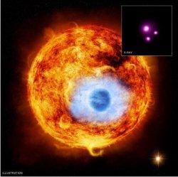 Първо рентгеново наблюдение на екзопланета