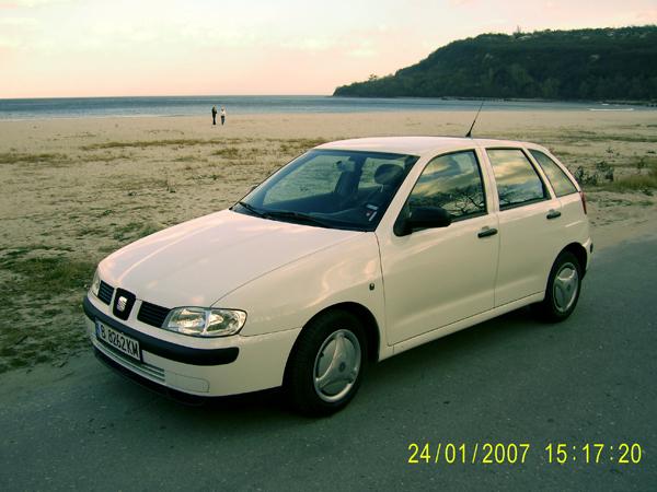 Поръчка Автомобил под наем SEAT IBIZA 1.4i - PETROL
