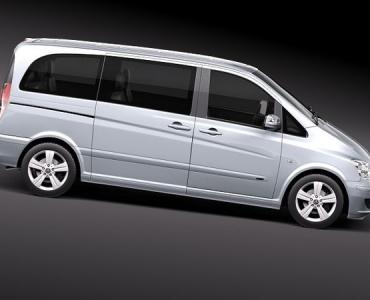 Поръчка Кола под наем Mercedes Minivan