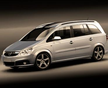 Поръчка Кола под наем Opel Zafira