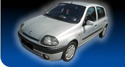 Поръчка Автомобил под наем Renault Clio 1.2 i A/C