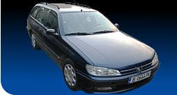 Поръчка Автомобил под наем Peugeot 406 1.8 i A/C
