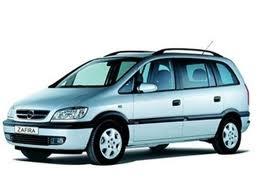 Поръчка Автомобил под наем Opel Zafira AUTOMATIC