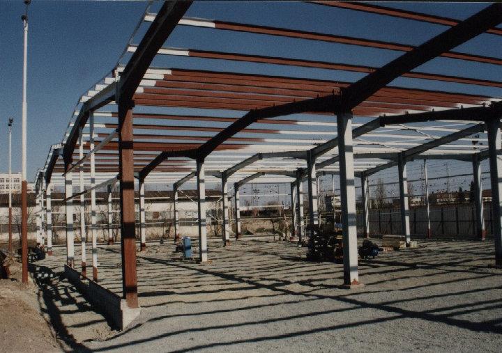 Поръчка Производство на метални конструкции