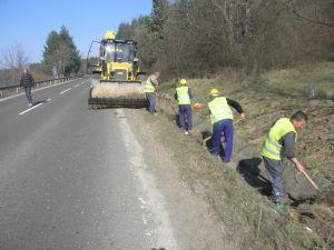 Поръчка Ремонт и поддръжка на пътища