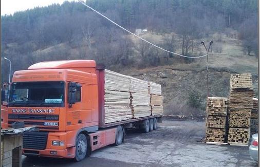 Поръчка Доставка на дървени и строителни материали