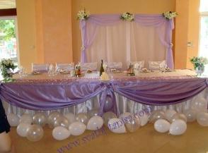 Поръчка Сватбена украса