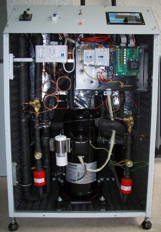 Поръчка Проектиране, производство и монтаж на термопомпи