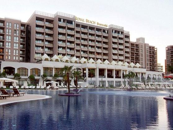 Поръчка Апартаменти в апарт хотел Royal Beach Слънчев бряг
