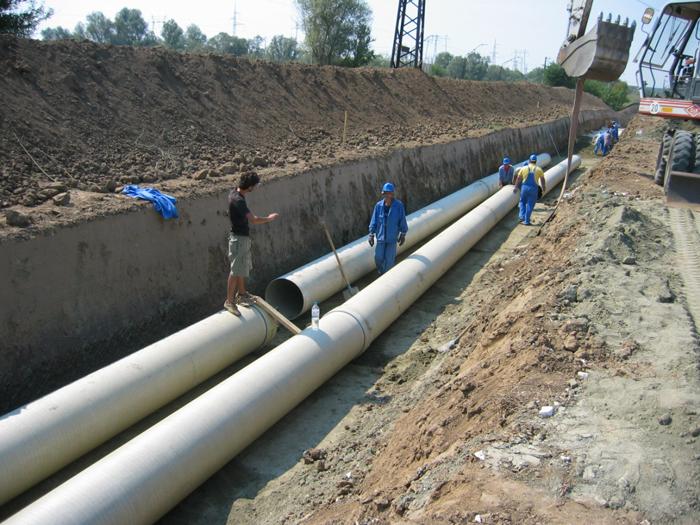 Поръчка Строителство на водопроводи