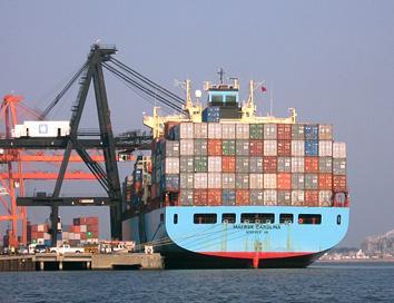 Поръчка Международен морски контейнерен транспорт