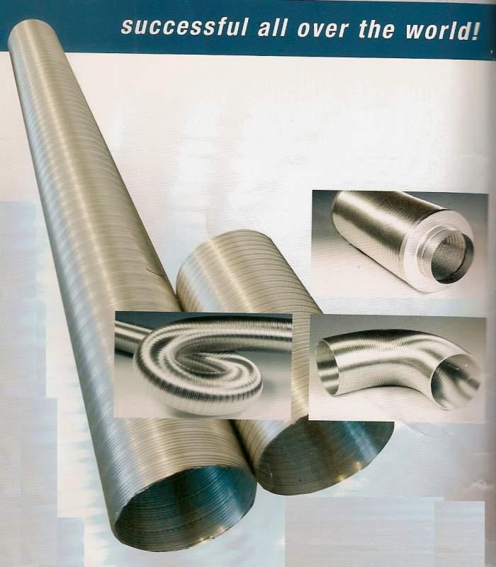 Поръчка Производство на алуминиеви въздуховоди