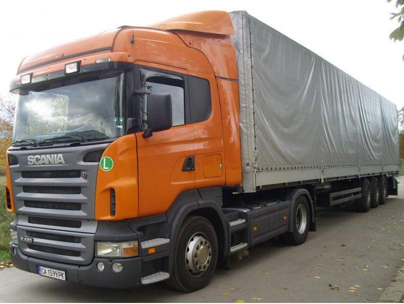 Поръчка Автомобилни превози на стоки Испания – България – Испания